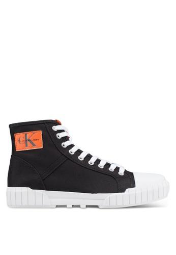 Calvin Klein black Binx Sneakers 876BBSH897BD15GS_1
