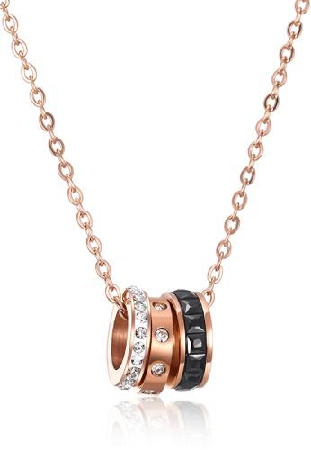 Trendyshop gold Lady's Pendant Necklace 808CEAC3EE7F14GS_1
