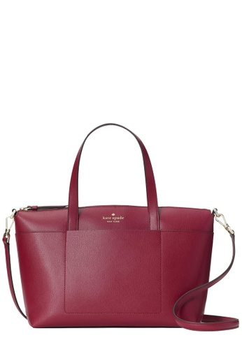 Kate Spade red Kate Spade Patrice Satchel Bag in Cranberry Cocktail CADA6ACF81B942GS_1