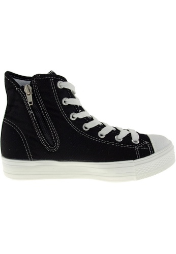 Maxstar black Maxstar Women's C1-1 7 Holes Canvas High Top Casual Sneakers US Women Size MA164SH60PZRSG_1
