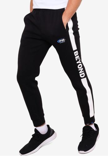 361° black Sports Life Knit Pants 2B8B0AA8D8892FGS_1