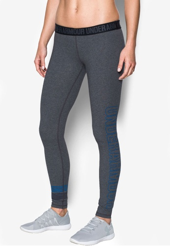 Under Armour grey Favorite Graphic Leggings UN337AA0RUFFMY_1