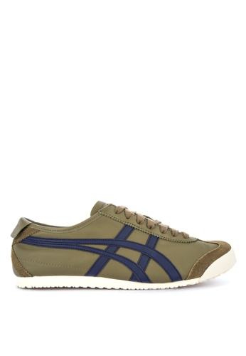 Onitsuka Tiger green Mexico 66 Lace-up Sneakers A727BSH266F0EFGS_1