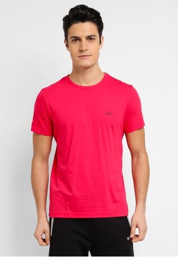 BOSS pink Jersey Tee - Boss Athleisure 63B61AAD415DDDGS_1