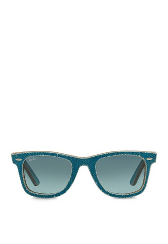 Wayfarer 丹寧太陽esprit品牌介绍眼鏡, 飾品配件, 飾品配件