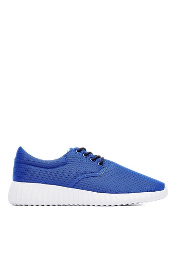 Life8 blue MIT Breathable Mesh Space Sports Shoes-09549-Blue LI283SH0FOJASG_1