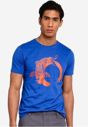 OVS 藍色 休閒T-襯衫 3A003AA2EDB0E3GS_1