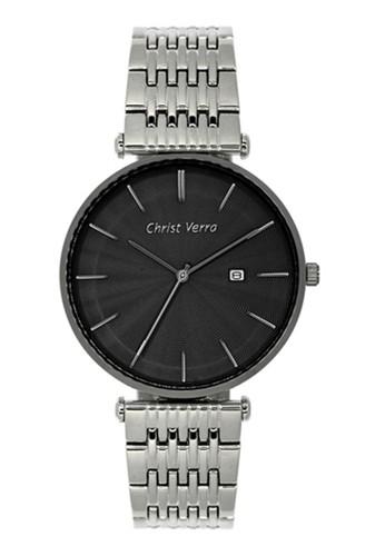 Christ Verra silver Christ Verra Men's Watches CV 71156G-11 BLK B2CE6ACFCB427CGS_1