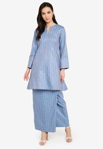 Seleksi Akma blue Kurung Pahang 4C65CAAF51382EGS_1