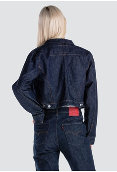 e37db1c70d76 50% OFF Levi s Womens Levi s® Engineered Jeans™ L S Trucker Jacket  72742-0000 S  169.90 NOW S  84.95 Sizes S M L XL