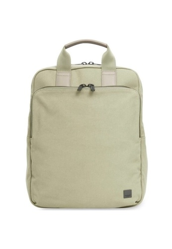 """knomo green James 15"""" Tote Backpack (Olive) 57E41ACE62B79BGS_1"""