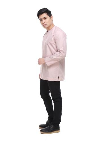 Amar Amran pink Kurta Al Amin 2.0 21DE3AA65A5F28GS_1