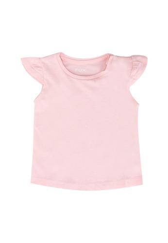 FOX Kids & Baby pink Cap Sleeves Top EA67FKA7C8716EGS_1