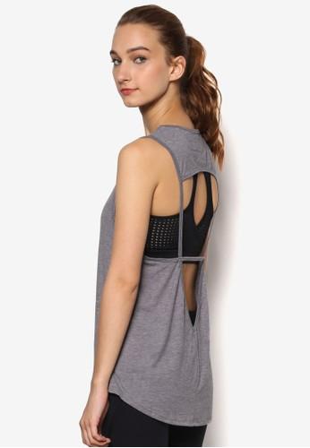 Freedom 背部鏤空坦zalora 內衣克背心, 服飾, 運動