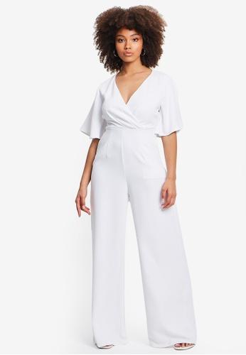 Tussah white Carin Jumpsuit 3D85EAA7EAAC9BGS_1