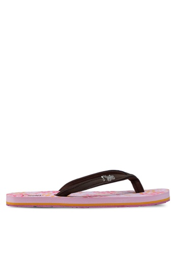 Ripples pink Tessa Flip Flops RI425SH91EEISG_1