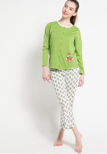 PUPPY white and green Print Hipster Pinguin PU643AA20EPJID_1