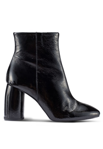 River Island black Kopping Bubble Heel Boots 1B9FCSH40A733BGS_1