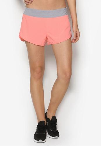 拼色運動短褲, 服esprit 鞋飾, 運動
