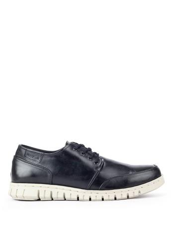 Sogno black Sepatu Pria Navara Parker Black 49C03SHDCFBD74GS_1