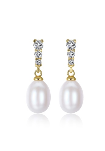 A.Excellence white Premium White Pearl Elegant Earring 5E189AC1B10B4CGS_1