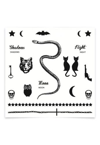 Stylodeco Temporary Tattoos, Moon 54986ES8D3C65EGS_1