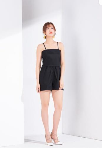 Zafiti black Black Jumpsuit 30E2BAABB6B83BGS_1