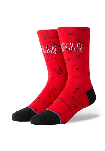 STANCE red STANCE Socks Red Bulls Playbook Large 33308AA4BAC7C1GS_1