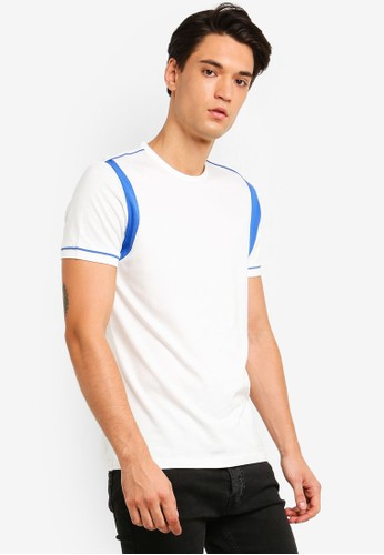 ESPRIT white and multi Short Sleeve T-Shirt D4C14AA1268EF5GS_1
