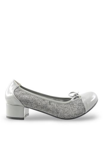 Footspot grey Footspot - Heels with Patent Toe Cap FO296SH87UCUHK_1