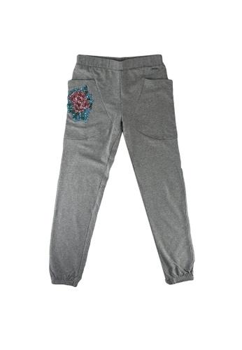 GUESS grey Fleece Pants 083B3KA815A76CGS_1