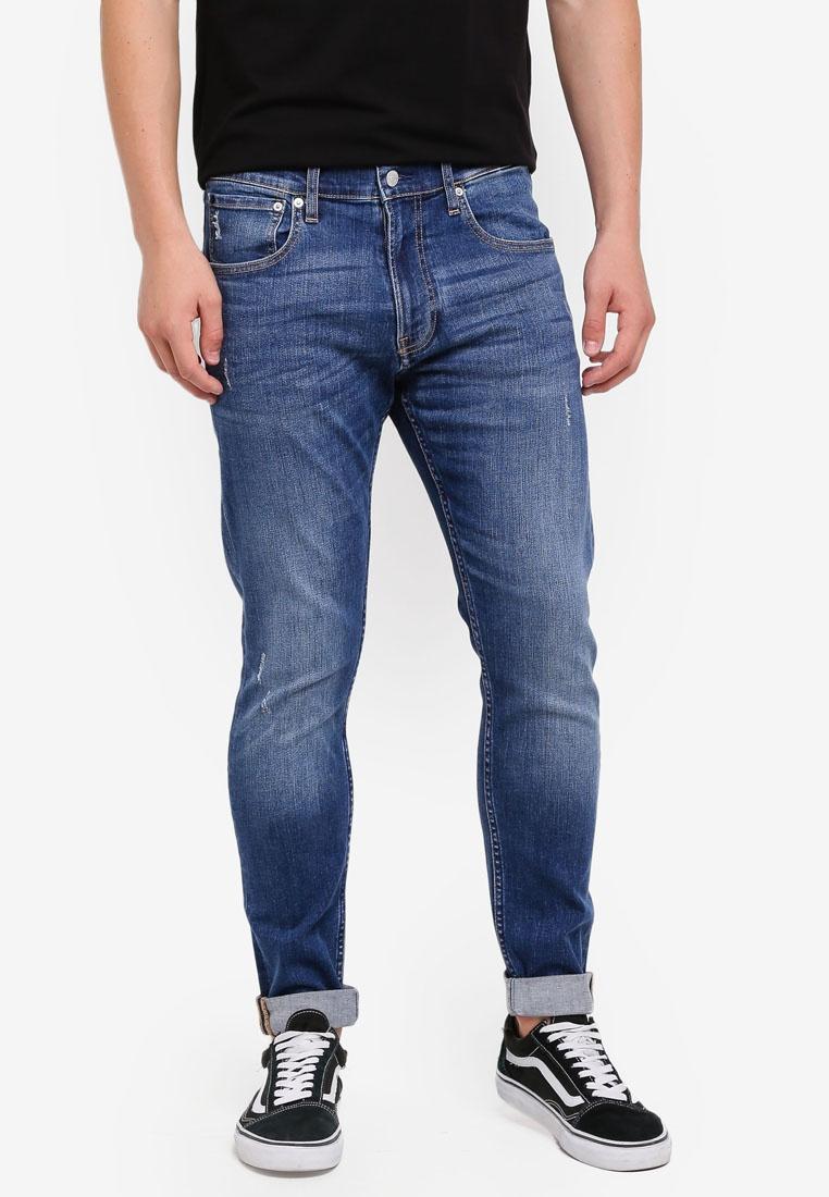 Calvin Jeans Jeans Klein Klein Calvin Blue 055 Tarra Taper Modern nv1xwOY