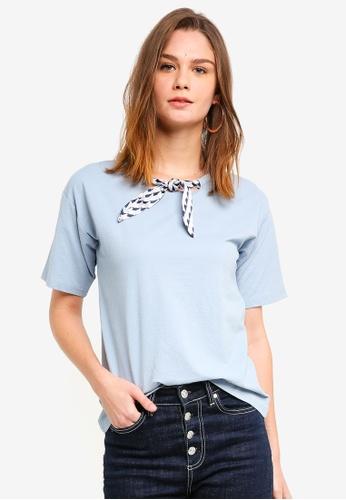 Haute Kelly blue Cho Top 90B51AADE826F2GS_1
