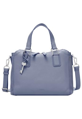 Fossil blue Jacqueline Satchel Bag ZB1571550 43794AC48644F9GS_1