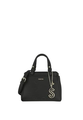 SEMBONIA black Top-Handle Mini Satchel Bag 8BDA3AC2978C84GS_1