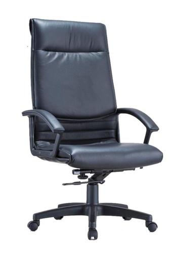 AMERCIS black Amercis Eva A Leather Office Chair 3E5EBHL2FECE1CGS_1