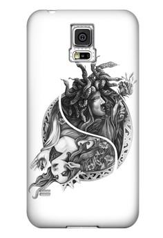Engkanto Glossy Hard Case for Samsung Galaxy S5
