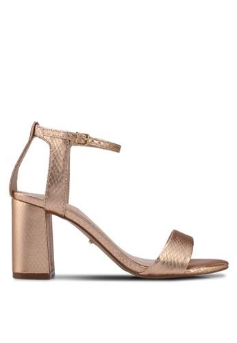 Carvela KG gold Metallic Blocked Heels 9108DSH39AAD92GS_1