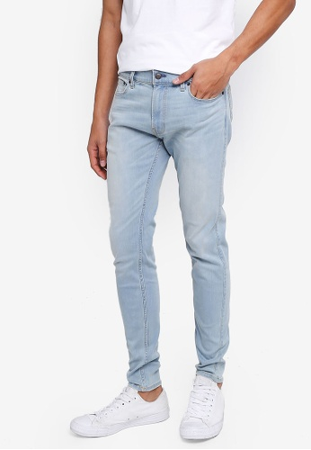 Hollister blue Super Skinny Jeans A733AAA909719CGS_1