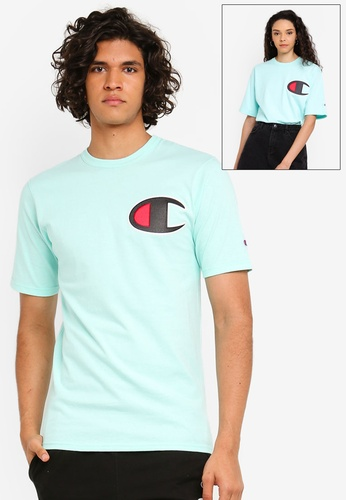 7c206d3bcd97 Champion green US Range Heritage Tee Graphics - Champion Script Embroidery  38770AA459E196GS_1