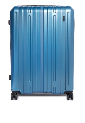 World Traveller blue Toronto Large Hard Case WO744AC0JYCAPH_1