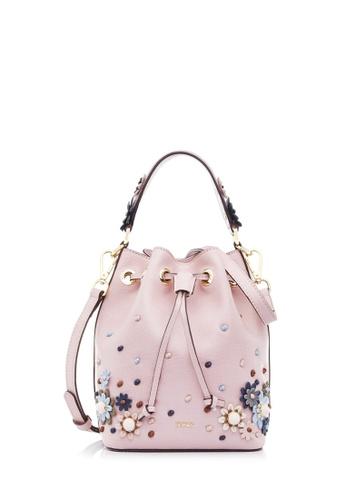 BONIA grey Pink Moray Bucket Bag 4894CACECE9EA6GS_1