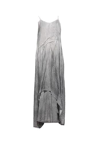 Twenty Eight Shoes grey VANSA Spray Print Braces Dress VCW-D0156 D8474AA7EF5AE8GS_1