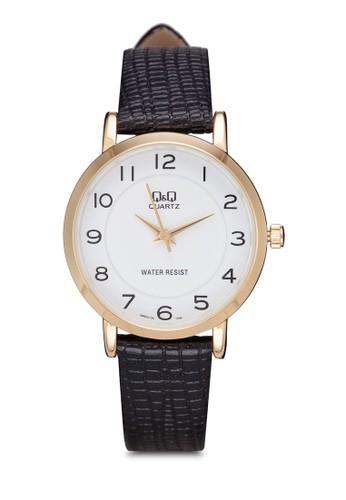 Q&Q Q945Jesprit 評價104Y 壓紋仿皮數字錶, 錶類, 其它錶帶