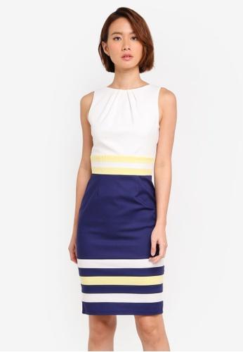 Paper Dolls multi Colour Block Contrast Dress EB59FAA0E6675FGS_1