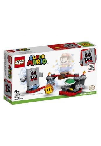 LEGO multi LEGO Super Mario 71364 Whomp's Lava Trouble Expansion Set (133 Pieces) AF33FTHCFFAD2FGS_1