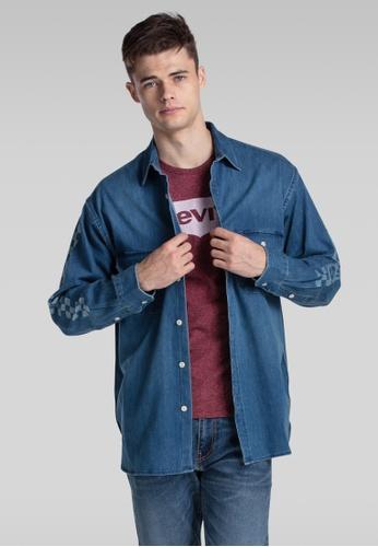 Levi's blue Levi's® Oversized Worker Shirt ED3E6AAD7964A4GS_1