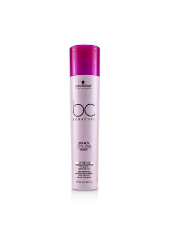 Schwarzkopf SCHWARZKOPF - BC Bonacure pH 4.5 Color Freeze Silver Micellar Shampoo (For Grey & Lightened Hair) 250ml/8.5oz 3E206BEB02A359GS_1