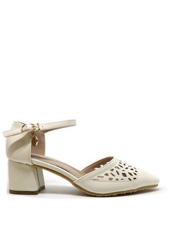 Twenty Eight Shoes Cutout Elegant Mid Heel 546-21a AA69ASHF9CDE8AGS_1