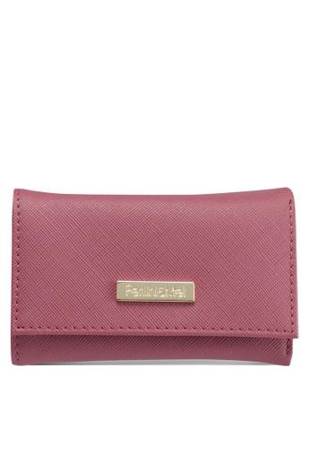 Perllini&Mel purple Faux Leather Key Pouch 6C116ACA19E241GS_1